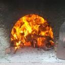 Pane cotto a legna con lievito madre