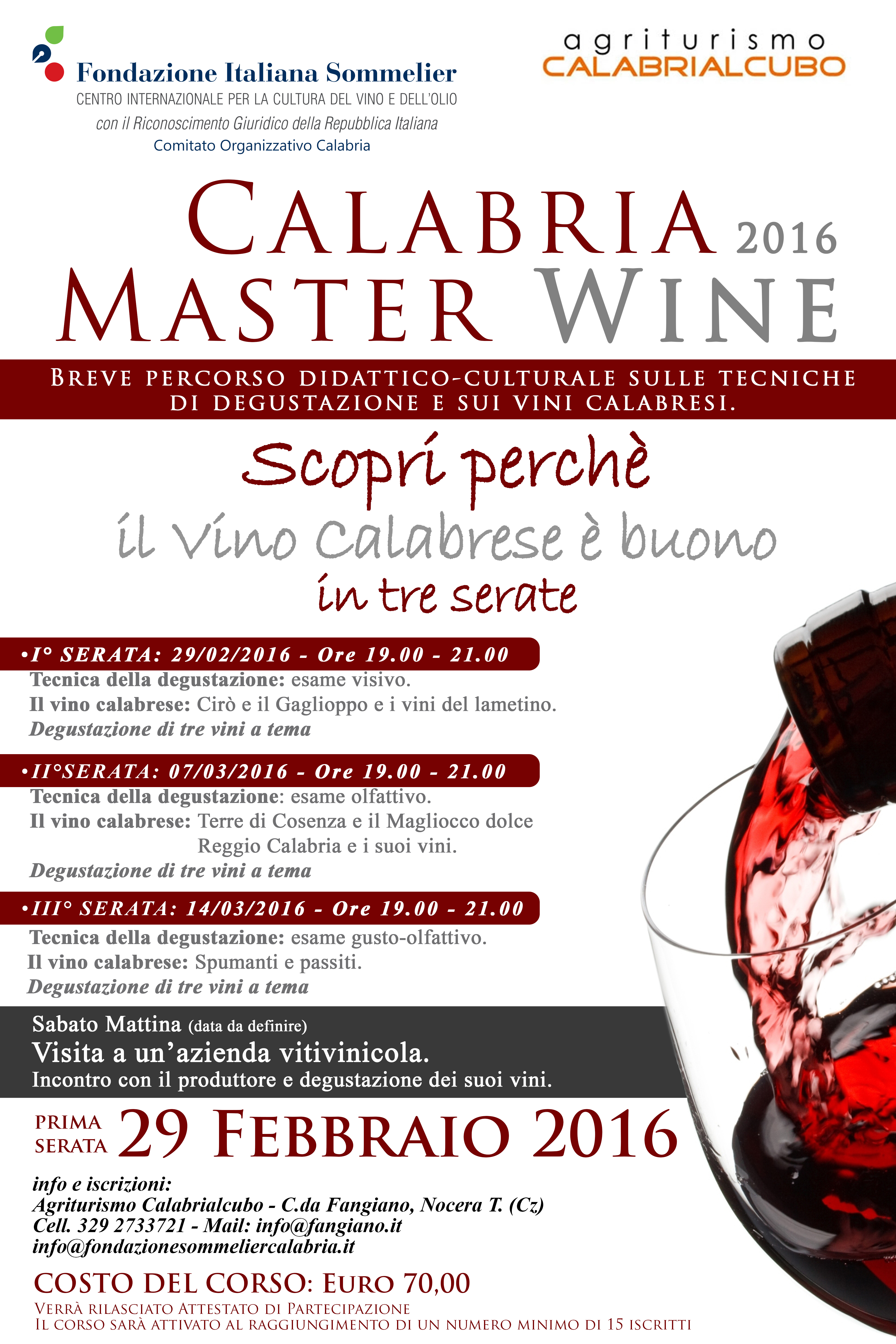 Calabria Master Wine 2016