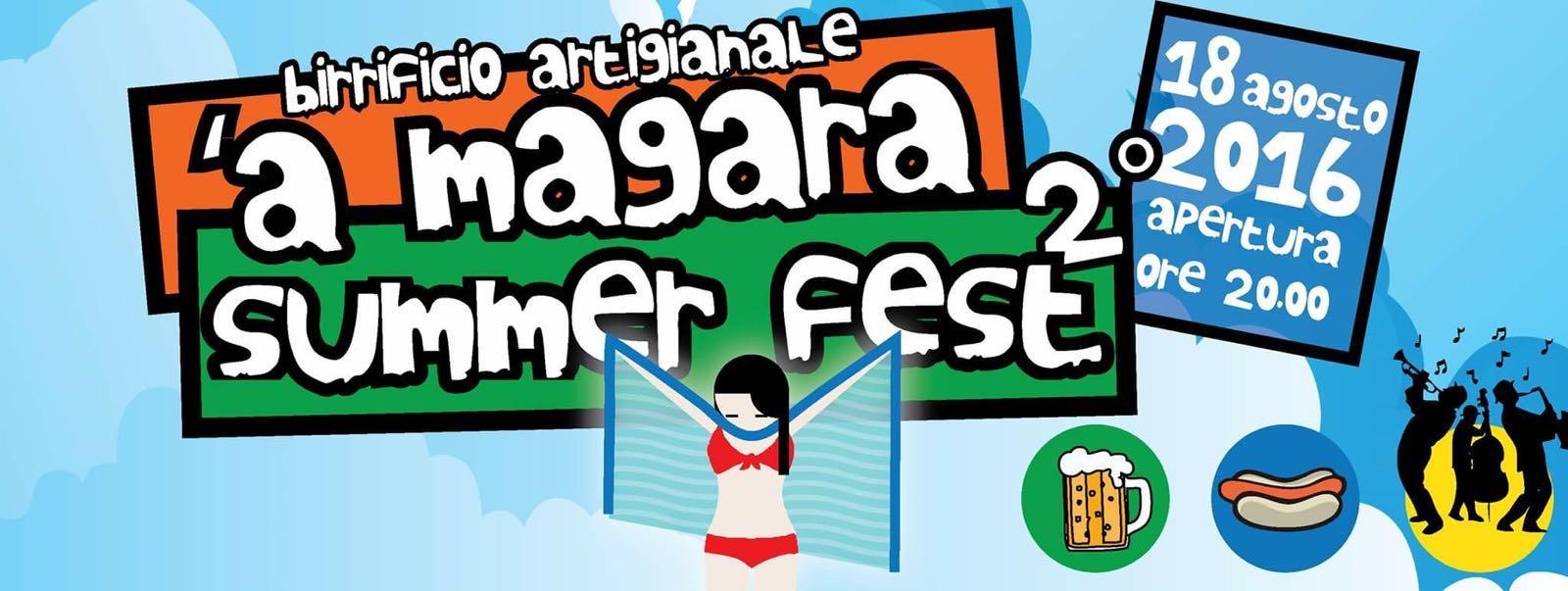 'A MAGARA SUMMER FEST 2016